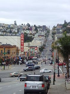 The Castro is one of the United States' first and best-known gay neighborhoods--and my office is right down this street!  www.LoveBetweenMen.com