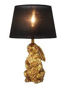 Bunny table lamp