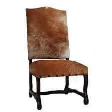 Spanish Cowhide Side Chair