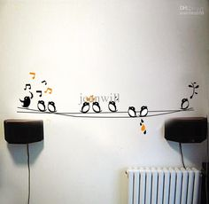 Sticker Wall Art 4 light switch sticker / wall decal sticker / panda | wall decal