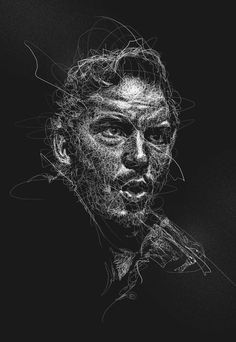 Vince Low- Malasiya  Reverse White Scribble on Behance