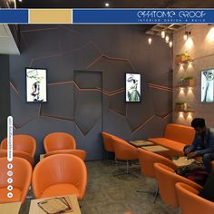 Comfy couch, grass on wall, cool drinks and life is sorted with beautiful cafe #designs by #EppitomeGroop. Read More at https://goo.gl/CG9AAr #topinteriordesignersinpune #Interiordesigns