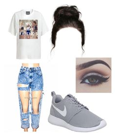 """""""Chill day """" by brejeasmith on Polyvore featuring NIKE and Bellezza"""