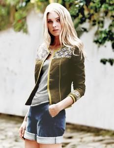 From classic biker designs, sports luxe, to ladies' casual jackets, we've got a style for every situation. Shop our collection of women's jackets at Boden. Boden Women, Lace Blazer, Elsa Hosk, Cute Jackets, Healthy Women, Young Models, Bikini Bodies, Bomber Jacket, Cute Outfits