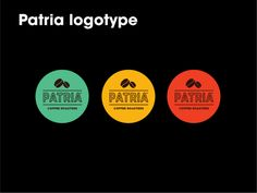 Patria Coffee by Isabela Rodrigues, via Behance