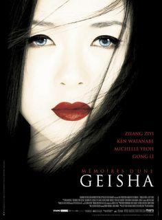 Affiches du film Mémoires d'une geisha