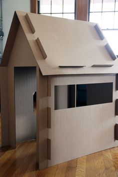 Cardboard Houses on Pinterest