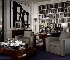 """Ralph Lauren Home Archives, """"Brook Street"""" Living Room, Fall 2010"""