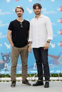 Giulio Berruti Photos - Davide Iacopini and Giulio Berruti attend the Giffoni Film Festival photocall on July 22, 2016 in Giffoni Valle Piana, Italy. -…