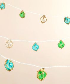 Glass Float String Lights