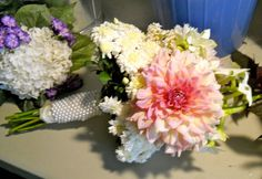 Erin's bridal Bouquet by Kathy Mereand, via Flickr