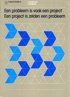 Ben Bos for Total Design, 1977 brochure for Twijnstra