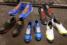 A rockin' collection of Reebok RealFlex! #sneakers