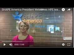 SHAPE America President Jackie Lund gives a tour of the new back to school website for health and physical educators.