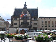 Rathaus in Schweinfurt, Germany.  My grandparents got married here.