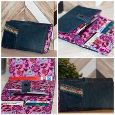 Compagnon Complice en jeans recyclé cousu par Nathalie - patron Sacôtin