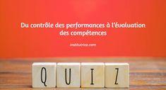 Du contrôle des performances à l'évaluation des compétences Constructivism