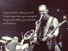Sad but true lyrics - Metallica (Made by me)