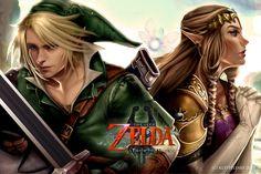 Legend of Zelda by KLSteeleArt.deviantart.com on @DeviantArt