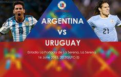 Argentina vs Uruguay http://bongda60s.net