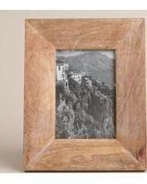Natural Evan Wood Frame - World Market