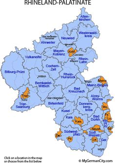 Rhineland-Palatinate Region, Germany