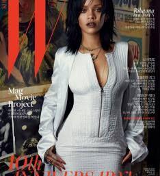 Rihanna Lands W Korea 10th Anniversary Cover (1 of 3)