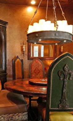 Elegant Gothic Dining Set