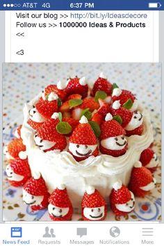 Cute christmas food idea