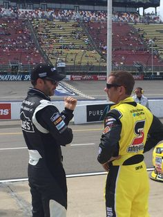 Quick chat with @gbiffle before qualifying begins!