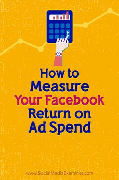Discover how to measure your return on ad spend (ROAS) and performance for Fa. Using Facebook For Business, How To Use Facebook, For Facebook, Facebook Marketing Strategy, Online Marketing, Social Media Marketing, Digital Marketing, Marketing Training, Business Marketing