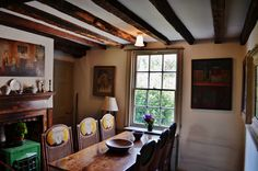 Virginia Woolf's dining room at Monk's House.