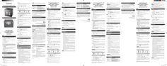 Mode d'emploi OREGON RM383P
