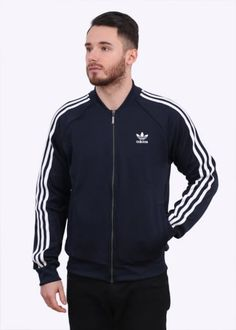 Adidas Originals Apparel SST Track Top - Ink