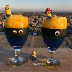 The minions cocktail
