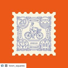 #Repost @town_squares with @repostapp.  #006: Amsterdam. With more than 400 kilometres of bicycle paths criss-crossing the city this Dutch capital is not only famous for its naughty girls and herbal brownies but regularly dominate the lists of the worlds most cycle-friendly cities. There are over 800000 bicycles in Amsterdam which estimates to more bikes than people. This world-class investment in cycling infrastructure began in the 1970s when the people of Amsterdam took to the streets in…
