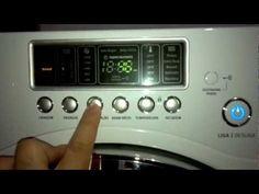 Lava e seca Electrolux Eco Turbo 9kg (LSE09) - Programando para lavar ou lavar e secar