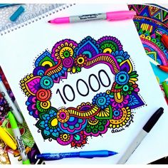 10K !!! What?!? I'm sooooo happy to see that there are 10000 people following me and supporting my art work. Thank you so much guys, I'll keep up my work. #thankyou 10k personas siguiendo mi arte me hace tan feliz, de verdad se los agradezco muchisimo, siempre me animan, me motivan, me sacan sonrisas y ustedes me dan muchisima energia espero poder inspirar a muchisima mas gente! Los quiero