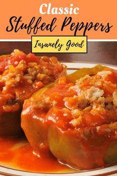 Meat Recipes, Cooking Recipes, Healthy Recipes, Pepper Recipes, Meatloaf Recipes, Venison Recipes, Sausage Recipes, Ketogenic Recipes, Gourmet