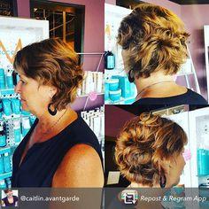 #texturedbob #haircut for Master Stylist Caitlin's beautiful guest #avantgardesalonandspa #hairinspiration