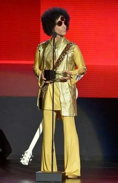 Prince  November 22, 2015 American Music Awards presenter