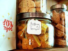 Exchange the almonds for pistachio - best saffron biscotti there is. It's finally starting to feel a lot like Christmas Swedish Recipes, Dessert Recipes, Desserts, Sugar And Spice, Afternoon Tea, Soul Food, Biscotti, Baked Goods, Pistachio