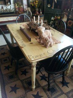 Table https://www.facebook.com/justforyouprimitives01