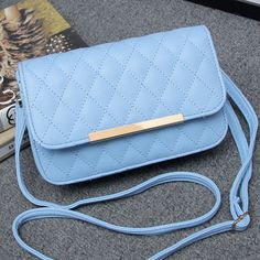 22.23$  Buy now - http://ali8y1.shopchina.info/go.php?t=32552248667 - Women messenger bags 2015 new Quilted iron side shoulder bag diagonal small Handbags fashion wave of female 22.23$ #magazineonlinebeautiful