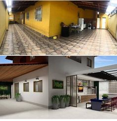 all idea inspiration design interior and exterior home modern decor Home Exterior Makeover, Exterior Remodel, Small Backyard Pools, House Rooms, Home Decor Styles, Interior Design Living Room, Interior Paint, Home Remodeling, Building A House