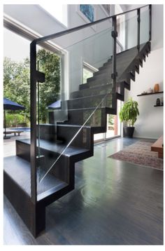 Metal Stairs that save time, keep and eliminate custom fabrication. In stock, ready to ship. metal stairs, steps, metal play a part platforms and portable stairs. Steel Stairs Design, Modern Stair Railing, Home Stairs Design, Staircase Railings, Modern Stairs, Interior Stairs, Stair Design, Staircase Ideas, Iron Staircase