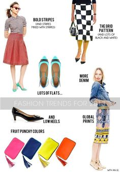 What to have in your spring wardrobe & how to wear it!