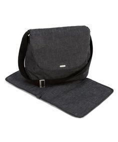 Riley Satchel Changing Bag - Blue Denim