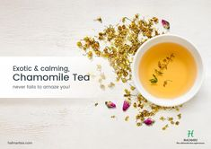 Chamomile tea has long been used, as a traditional folk remedy, for a wide range of health issues. So, make it a part of your daily routine to get the benefits.