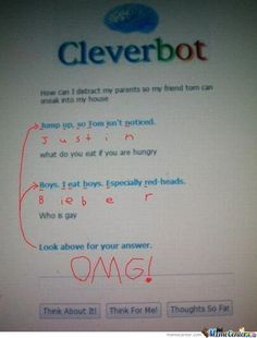 Oh Cleverbot.